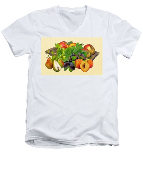 Day Fruits Men's V-Neck T-Shirt