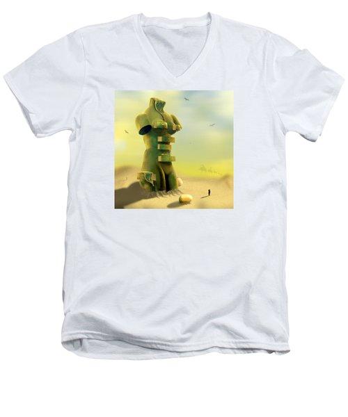 Drawers Men's V-Neck T-Shirt