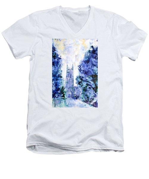 Duke Chapel Men's V-Neck T-Shirt