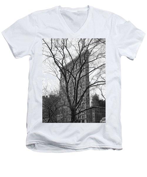 Flat Iron Tree Men's V-Neck T-Shirt