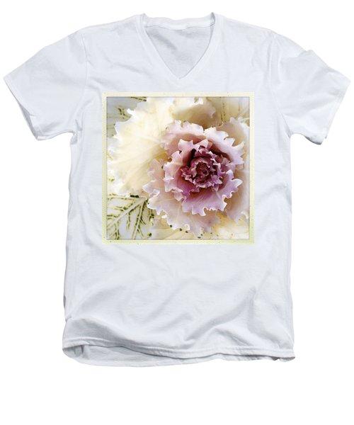 Pretty Flower Men's V-Neck T-Shirt