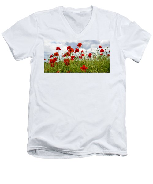 In Flanders Fields Men's V-Neck T-Shirt