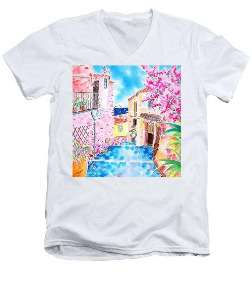Mediterranean Wind Men's V-Neck T-Shirt