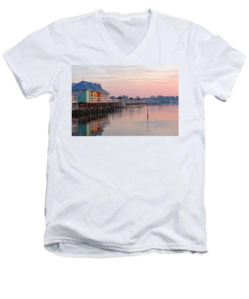 Morning Peace Men's V-Neck T-Shirt