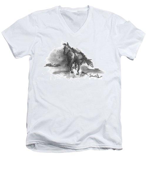 My Stallion Men's V-Neck T-Shirt