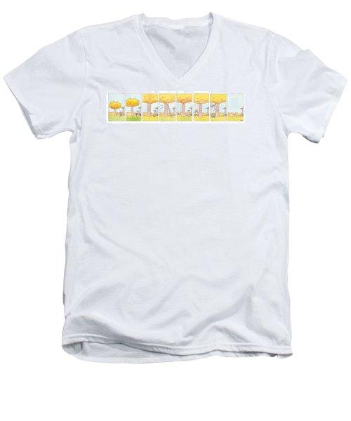 New Yorker December 15th, 1997 Men's V-Neck T-Shirt