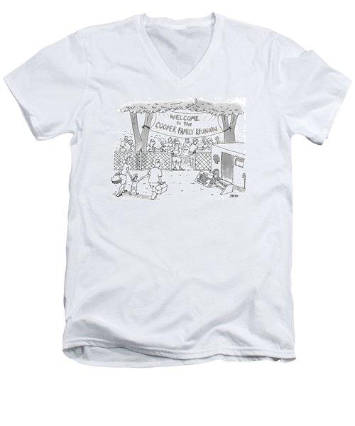 New Yorker May 31st, 1999 Men's V-Neck T-Shirt