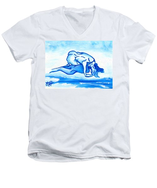 Ocean Of Desire Men's V-Neck T-Shirt
