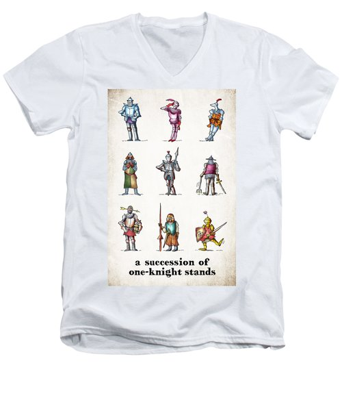 One Knight Stands Men's V-Neck T-Shirt