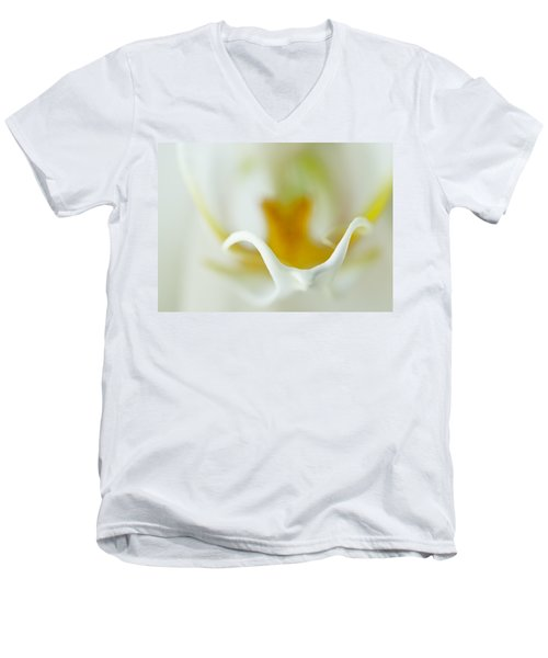 Moth Orchid Macro Men's V-Neck T-Shirt