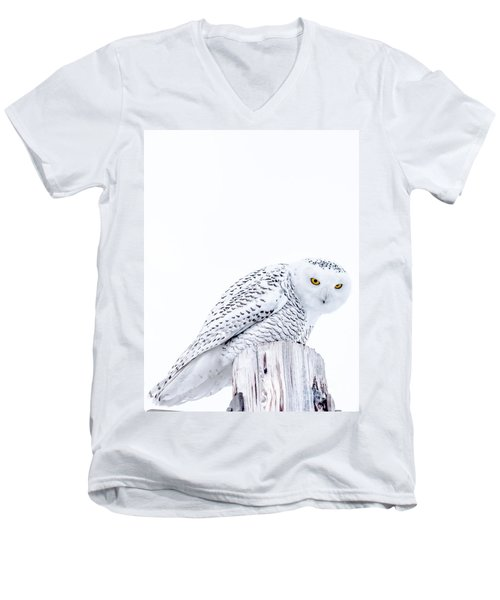 Piercing Eyes Men's V-Neck T-Shirt