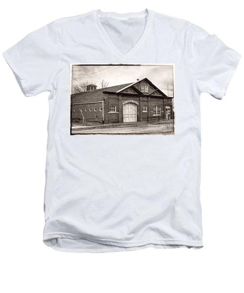Pony Express Stables Men's V-Neck T-Shirt