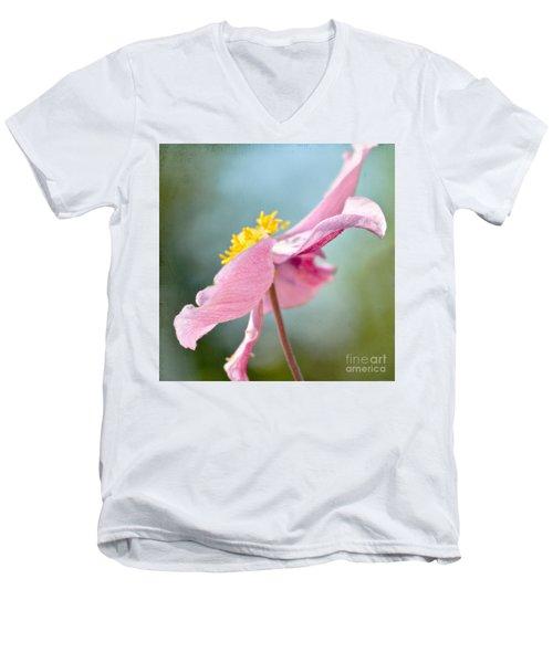 Reaching For The Sky  Men's V-Neck T-Shirt