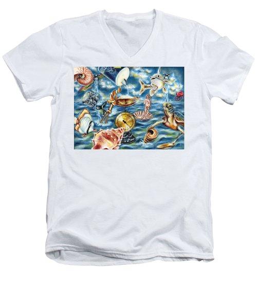 Recipe Of Ocean Men's V-Neck T-Shirt