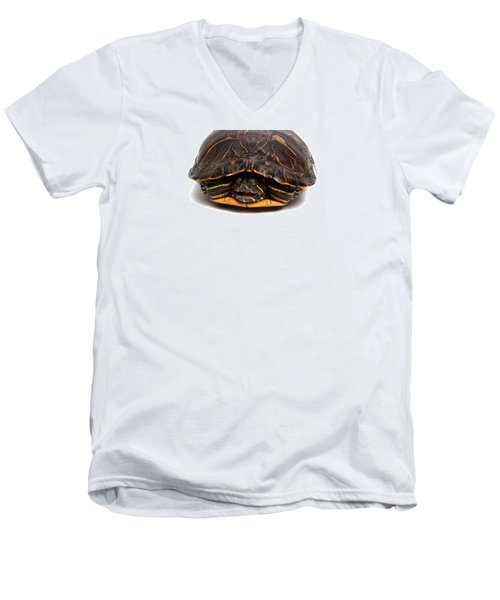 Red-eared Slider Men's V-Neck T-Shirt