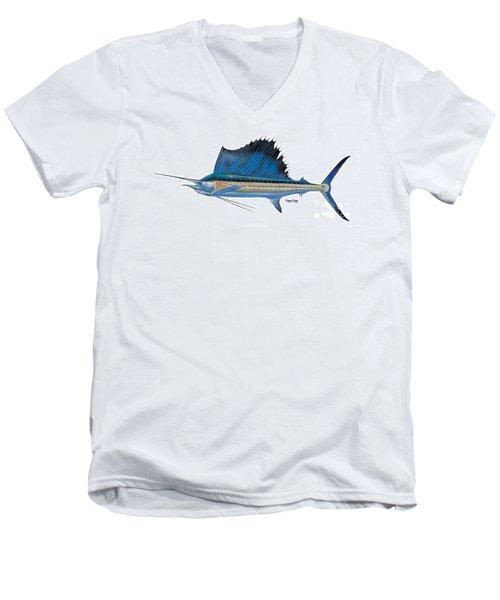 Sailfish Men's V-Neck T-Shirt