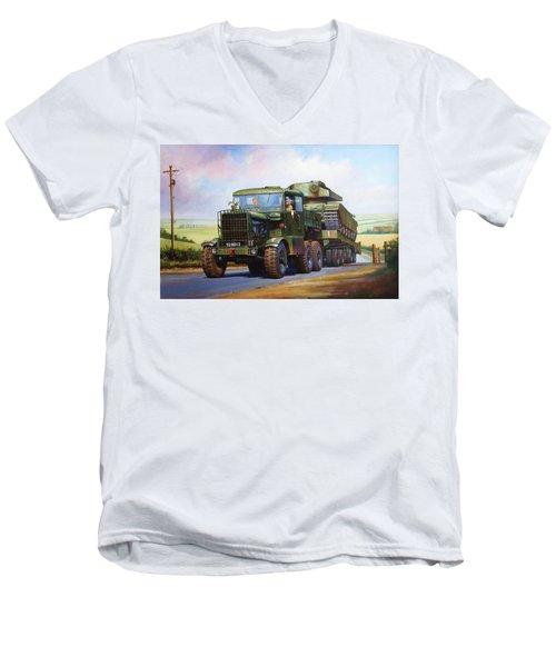 Scammell Explorer. Men's V-Neck T-Shirt