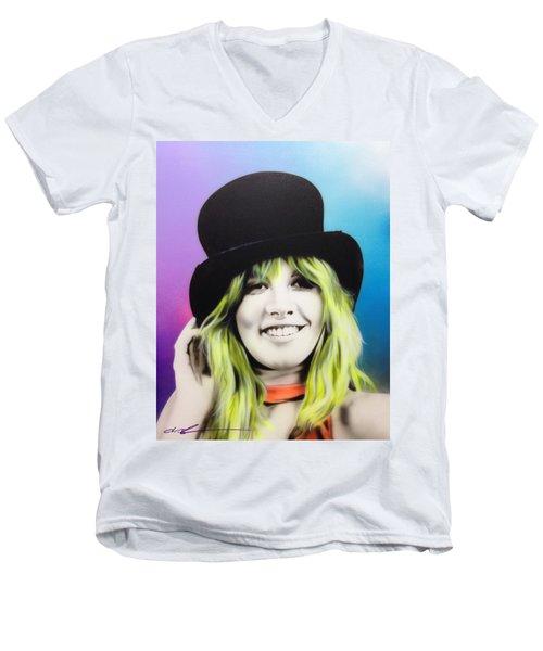 Stevie Men's V-Neck T-Shirt