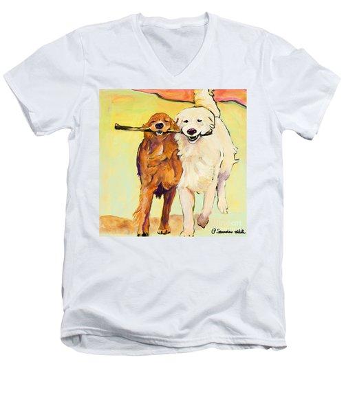 Stick With Me Men's V-Neck T-Shirt