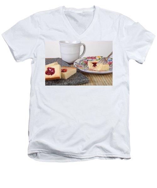 Studio Shot Of Home Made Pastry Men's V-Neck T-Shirt