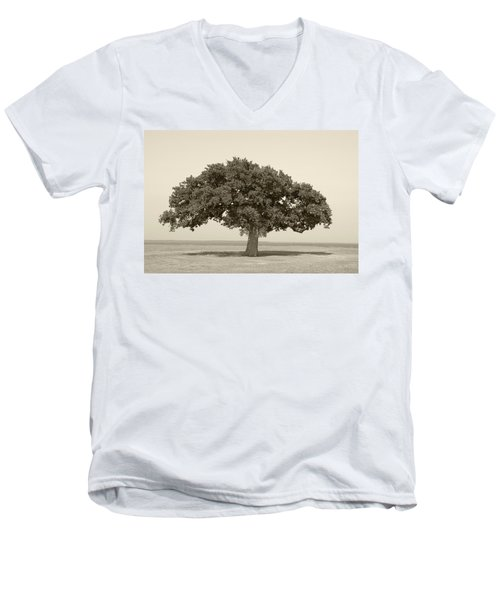 The Lonely Tree Men's V-Neck T-Shirt