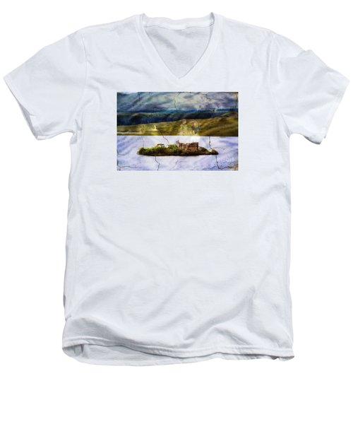 The Lost Kingdom Men's V-Neck T-Shirt