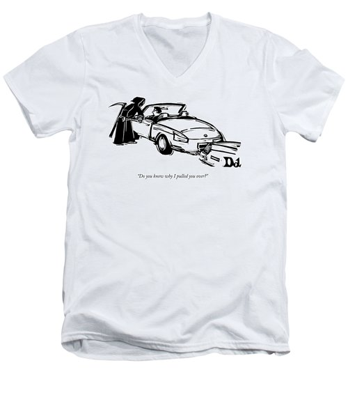 Do You Know Why I Pulled You Over? Men's V-Neck T-Shirt