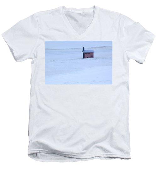 White Sands New Mexico Men's V-Neck T-Shirt