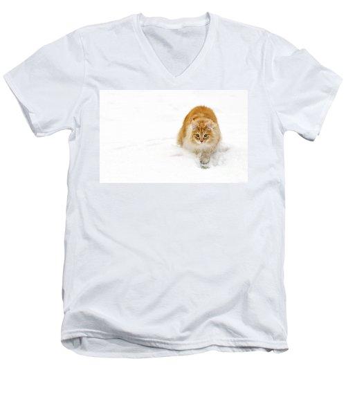 111230p310 Men's V-Neck T-Shirt