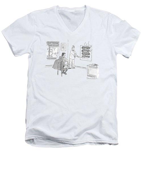 New Yorker June 12th, 2000 Men's V-Neck T-Shirt
