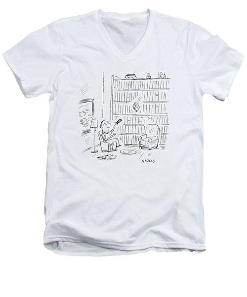 New Yorker July 3rd, 2000 Men's V-Neck T-Shirt