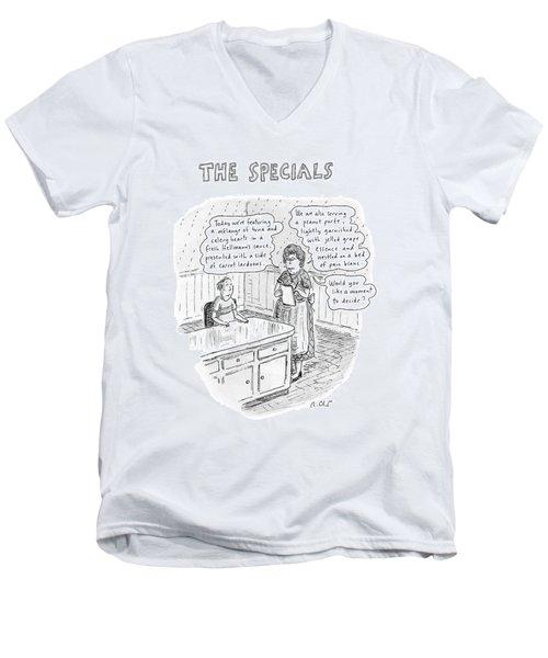 The Specials Men's V-Neck T-Shirt