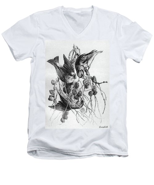 Blackburn Birds, 1895 Men's V-Neck T-Shirt