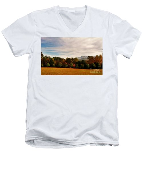 Cades Cove Men's V-Neck T-Shirt