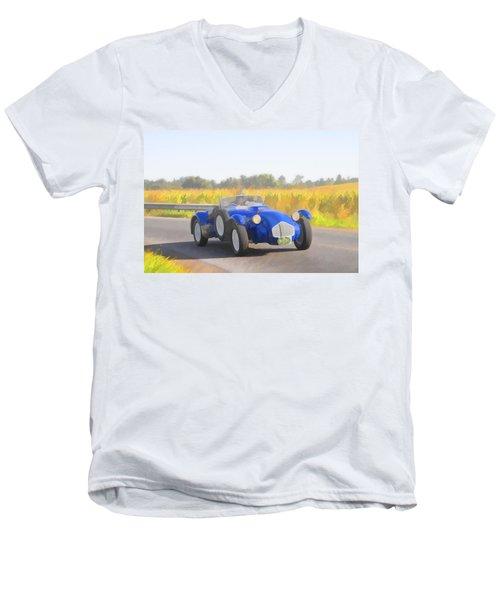 1953 Allard J2x Roadster Men's V-Neck T-Shirt