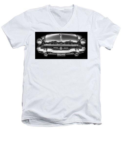 1953 Lincoln - Capri Men's V-Neck T-Shirt by Steven Milner