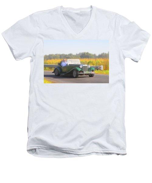 1953 Mg Td Men's V-Neck T-Shirt
