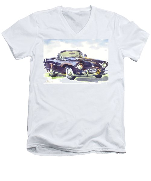 1955 Thunderbird Men's V-Neck T-Shirt
