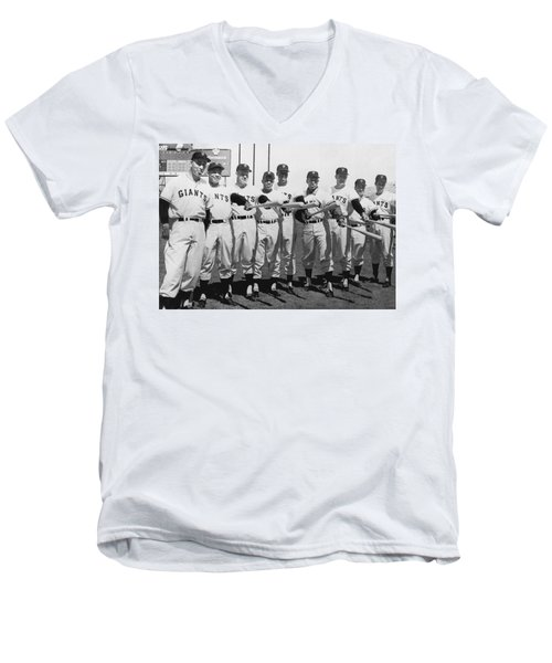 1961 San Francisco Giants Men's V-Neck T-Shirt