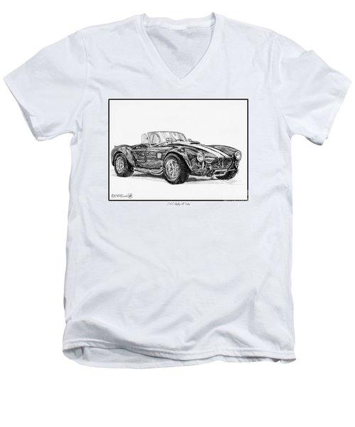 1965 Shelby Ac Cobra Men's V-Neck T-Shirt