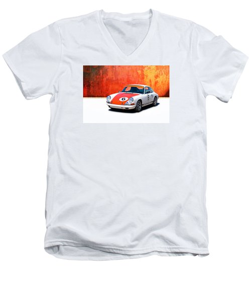 1968 Porsche 911 Men's V-Neck T-Shirt