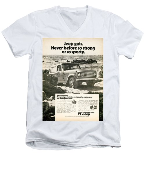 1972 Jeep Commando Men's V-Neck T-Shirt