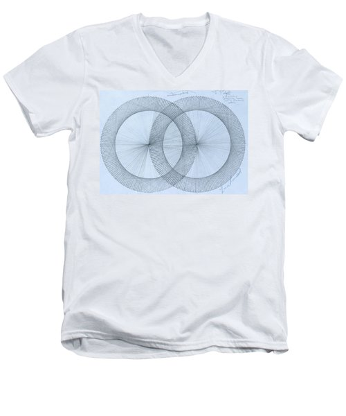 Magnetism Men's V-Neck T-Shirt