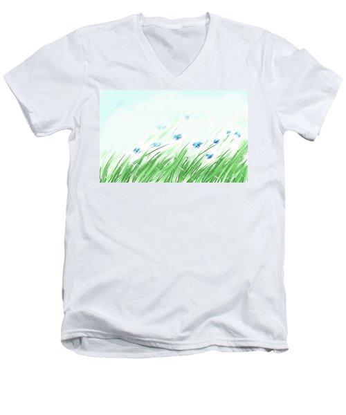 April Shower Men's V-Neck T-Shirt