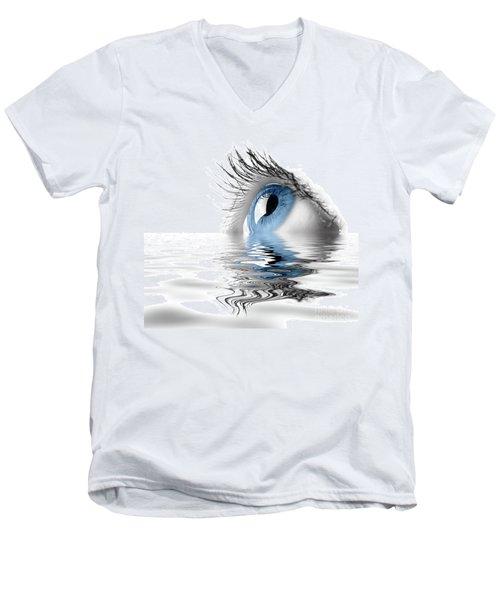 Blue Eye Men's V-Neck T-Shirt