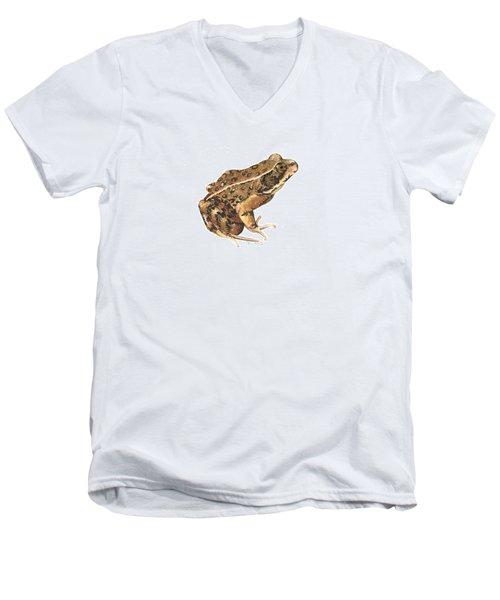 California Red-legged Frog Men's V-Neck T-Shirt