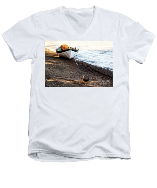 China Beach Rowboat Men's V-Neck T-Shirt