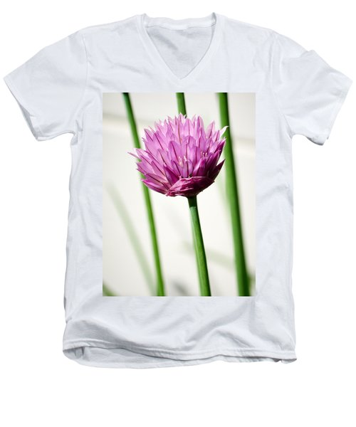 Chives Men's V-Neck T-Shirt