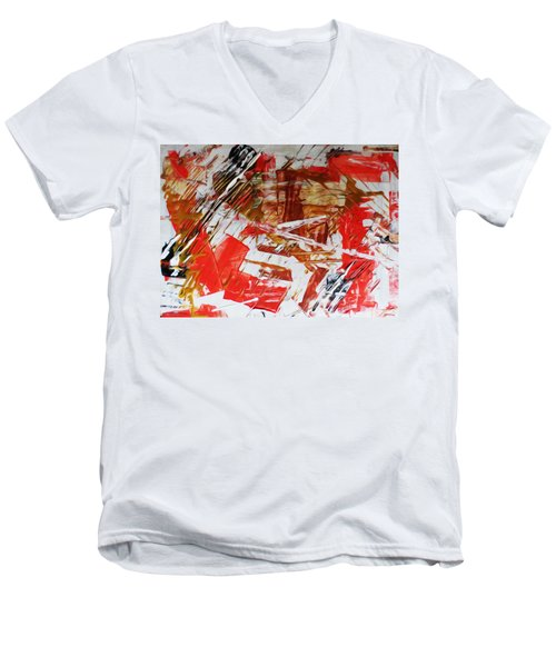 Comission 23 Uplifting Behaviour Men's V-Neck T-Shirt