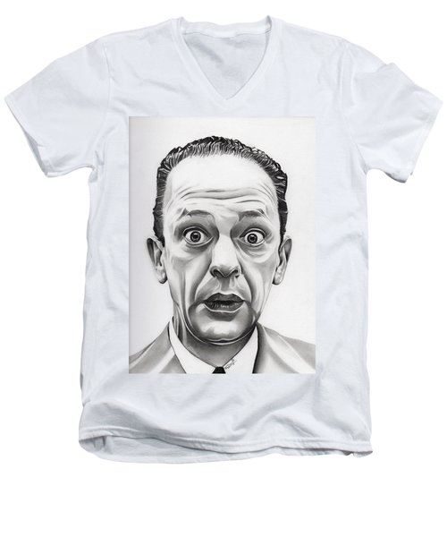 Deputy Barney Fife Men's V-Neck T-Shirt by Fred Larucci